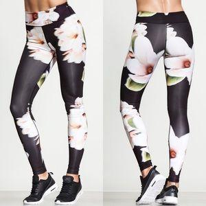 Carbon 38 Calyx floral print leggings